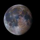 Moon (enhanced color saturation),                                OrionRider