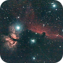 Horsehead and Flame Nebula,                                edomtset