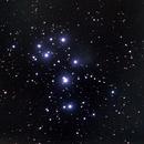 M45 Pleiades open cluster,                                omar salah