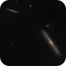 NGC 4216 and friends,                                Christoph Lichtblau
