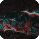 Veil Nebula, Baader CMOS-Optimized 6.5nm f/2 Highspeed Filter (H-a/O-III) Test,                                tjm8874