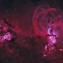 NGC 3576,                                Lee Borsboom