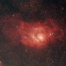 Lagunennebel Messier (M) 8 im Sternbild Schütze (Sagittarius),                                astrobrandy