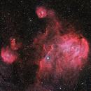 IC2944 Running Chicken Nebula,                                Annette & Holger