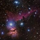 IC434 region,                                dkamen