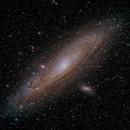 Andromeda with Altair Hypercam 269c,                                AstroBillUK