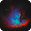 The Pacman Nebula - SHO,                                BBRAUNCCP