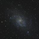 M33 - Galaxie du triangle - 14 et 15 Octobre 2017,                                dsoulasphotographie