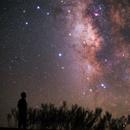 Alone under the Nightsky ,                                Mohammad Rahimi