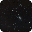 Wide field image of M81 and M82 (Bode's and Cigar Galaxies),                                Jared Watson