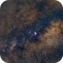 Milky Way core,                                Starlight Hunter
