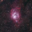 Lagoon Nebula,                                Kyle Pickett