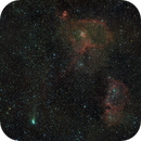 Hart & Soul nebula with comet 21P,                                Janos Barabas