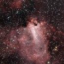 M17 The Swan Nebula,                                Elmiko