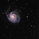 M101 - Pinwheel Galaxy,                                Lugger Mario