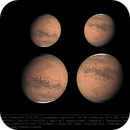 Mars 10 Sep 2018 - Elysium Mons - 9 min WinJ composite of drizzle and non-drizzle stacks,                                Seb Lukas