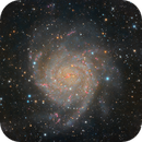 IC342 Hidden Galaxy  Rework Bortle 7,                                Rudi Van Minnebru...