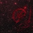 SH2-224 Ha false color (WIP) Wow, this is a dim target!,                                Serge Caballero