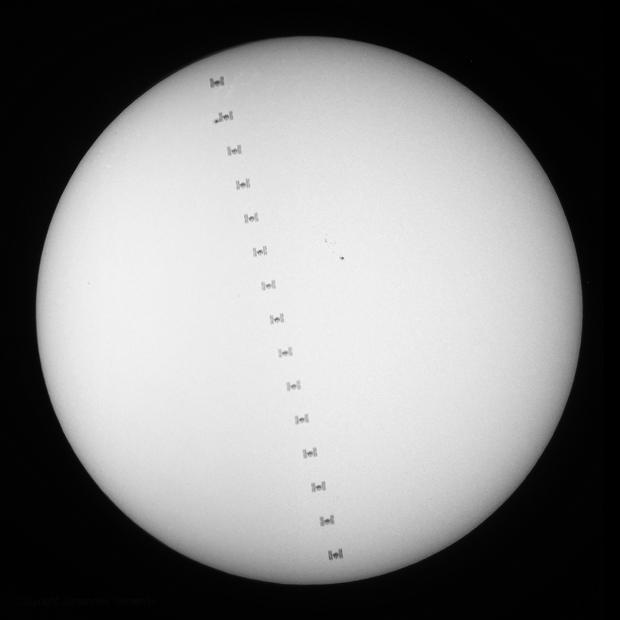 ISS Solar Transit,                                Johannes Schiehsl