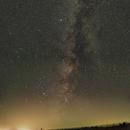Milky Way Panorama from Assateague Island,                                JDJ