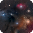Rho Ophiuchi Complex, Four Panel Mosaic,                                Andrew Barton