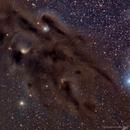 Barnard 22 and Little Flame,                                DeepSkyView