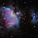 M42 Orion Nebula,                                Michael Southam