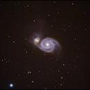 M51 Whirlpool galaxy,                                Göran Nilsson
