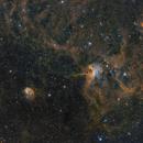 Ic 417- ngc 1931- nébuleuse de l'araignée et de la mouche SHO,                                astromat89