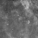 Crescent NGC 6888  H-Alpha @ 100mm,                                Oliver