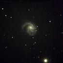 Coma Pinwheel Galaxy,                                Robin Clark - EAA imager