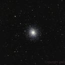 M92 Star cluster,                                Jens Zippel