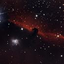 Barnard 33 The Horsehead nebula,                                Ian Papworth