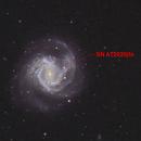 M61 with supernova!,                                Frank Kane