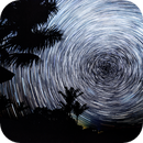 1 hour of Star trails around the South Celestial Pole (16 June 2021),                                KiwiAstro