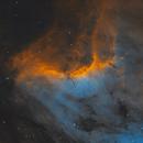 Pelican Nebula,                                Andrew Burwell