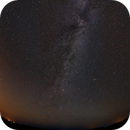 Milky Way with M31 from the Bad Lands,                                mads0100