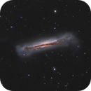NGC 3628 - the Hamburger Galaxy,                                pete_xl