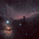 Everybody's doin' it - Flame and Horsehead Nebulae,                                DustSpeakers