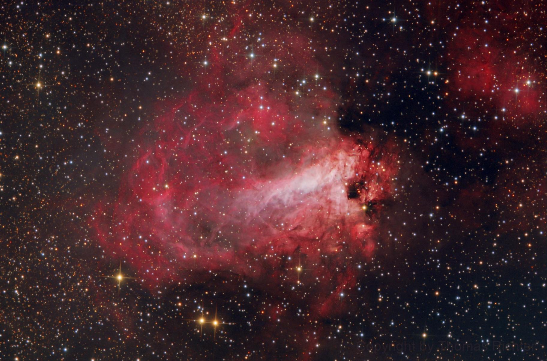 Omega Nebula - M17,                                Thomas Richter