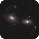 NGC3169 and NGC3166 Spiral galaxy,                                bawind Lin