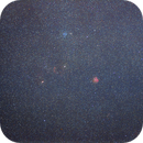 Messier 35 area widefield,                                raykwong