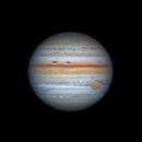 Jupiter 2021-08-22 13:57UT,                                David Cheng