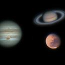 Premières images de Mars, Jupiter & Saturne,                                Georges