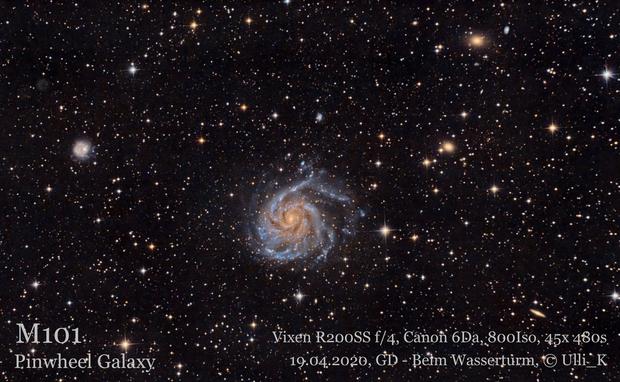M101 Pinwheel Galaxy,                                Ulli_K