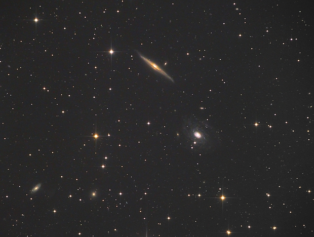 NGC5963, NGC5965,                                Станция Албирео