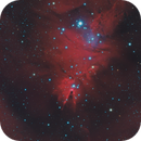 NGC 2264 The Cone Nebula in HaLRGB,                                Eshan Toorabally
