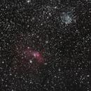 Bubble nebula RGB,                                Janos Barabas