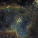 IC 1805 narowband SHO ,                                Eric COUSTAL ( F5ODA )