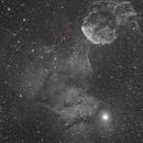 Sh 249 - IC443 - asteroid Euterpe,                                Carlo Rocchi